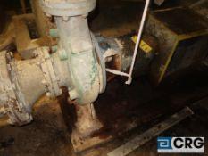 Warren 8 X 6 X13 centrifugal pump with 60 HP drive (Elev 530 Pulp Mill)