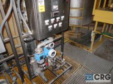 East Polymer Make Down System skid, with flow controller