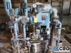 Bird 18 in. diameter stainless steel pressure screen with 60 HP drive (Elev 542 Pulp Mill)