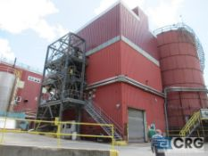 Complete 100 ton per hour/850 ton per day chip processing system. New installation in 2014.
