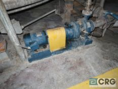 Lot of (3) assorted Gould ss centrifugal pumps(Elev. 496 Coating)