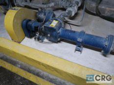 Moyno progressive cavity pump with 15 HP drive (Elev. 496 Coating)