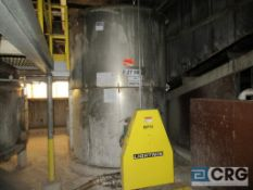 "Lot including (1) CB Emulsion Tank #5, 7200 gal, 120"" high, side bottom Lightnin SPX agitator and ("