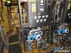 West Polymer Make Down System skid, with flow controller