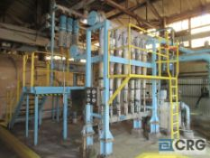 Cleaner set associated with Bird pressure screens (Elev 542 Pulp Mill)