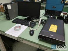 Epson V600 photo scanner with Dell PC (Office Lab)