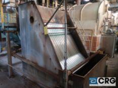 Bauer Hydrosieve stainless steel screen (Elev 542 Pulp Mill)