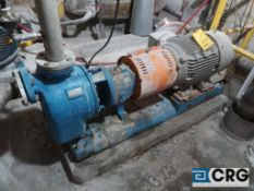 Goulds 3 X 3 - 10 rotary water pump with 40 HP drive (Lime Kiln Lower Level)