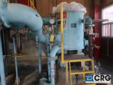Bird 36 in. diameter stainless steel pressure screen with 100 HP drive (Elev 542 Pulp Mill)