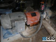 Goulds 6 X 8 centrifugal pump with 100 HP drive (Elev 530 Pulp Mill)