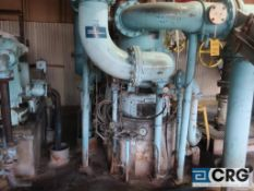 Bird 36 in. diameter stainless steel pressure screen with 125 HP drive (Elev 542 Pulp Mill)
