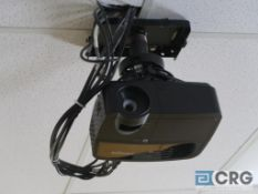 IWCH Infocus overhead projector with 8 ft. electric drop down screen, control rack, Samsung DVD,