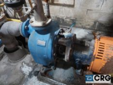 Goulds 3 X 3 - 10 rotary water pump with 50 HP drive (Lime Kiln Lower Level)