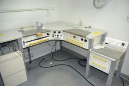 L-Shaped Lab Tables