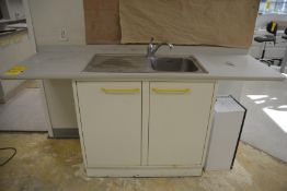 1-Compartment Sink with Cabinet