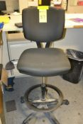 Rolling Apolstered Steno Chair