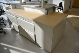 L-Shaped Lateral File Cabinet