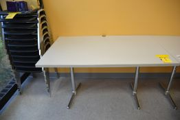 Double Pedestal Formica Top Tables