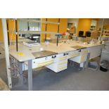 LOT - Lab Table Set UP