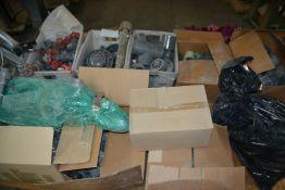 LOT - 10 Boxes of PVC Fittings, Etc.