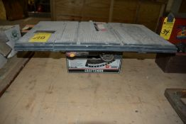 "Craftsman 8"" Direct Drive Table Saw"