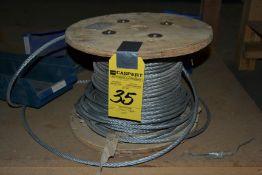 LOT - Roll Steel Rope, Etc.