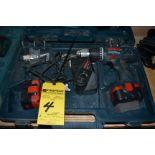 Bosch 18 & 14, 4 Volt Hammer Drill w/ (1) Charger