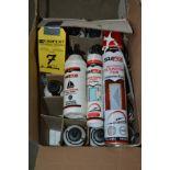 LOT - 3 Boxes w/ Marine Adhesive/Silcone/Foam