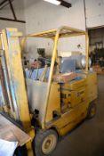 5000 Lbs. Caterpillar Propane Forklift, M: T-50B, SN: 12N-2067