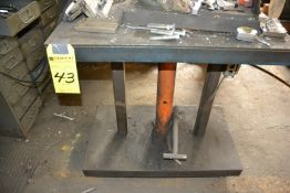 """18"""" x 30"""" 3 Ton Long Arm Jack with Lift Table"""