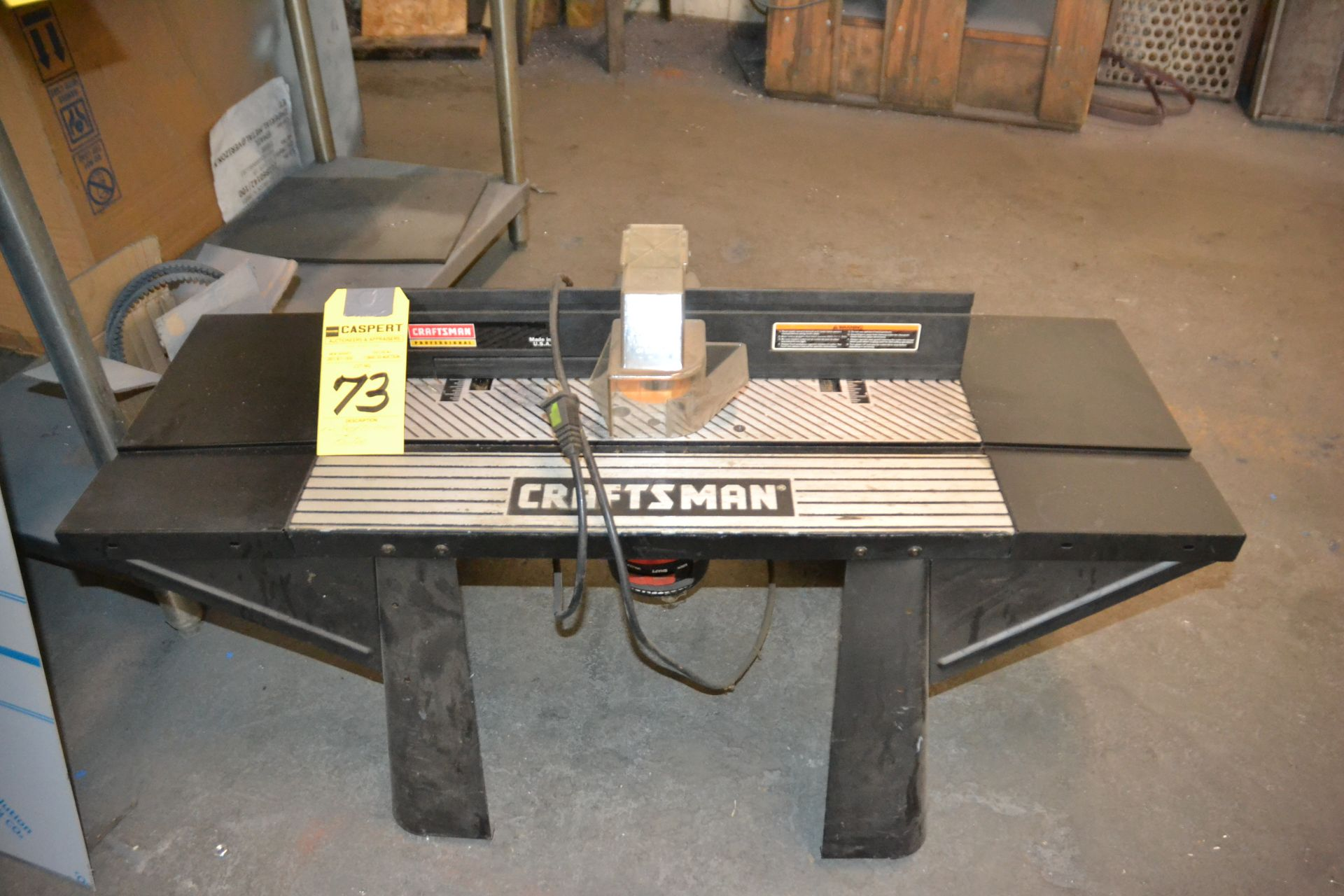 Craftsman Table Router