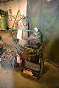 Oxygen & Acetylene Burning Unit with Cart (No Tanks)