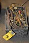 LOT - Assorted Welding Hose/Gages/Torches