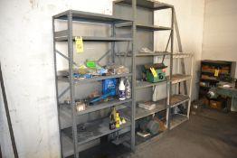LOT - (2) Metal Shelving