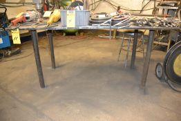 "40"" x 70"" Steel Welding Table"