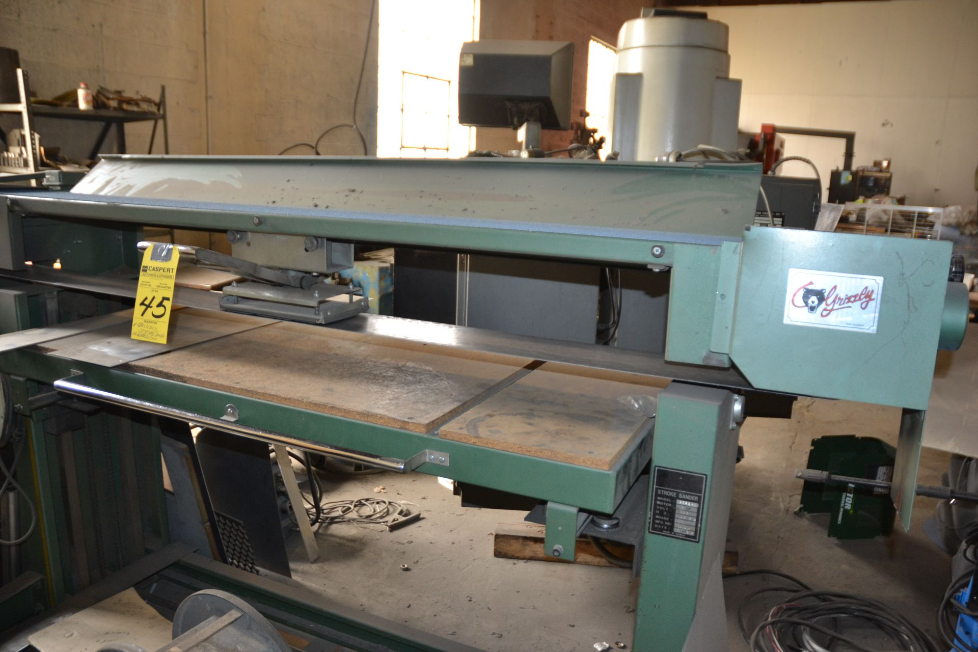 Grizzly Stroke Sander, M: G53941