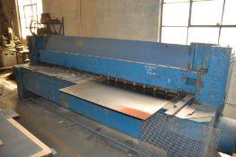 Niagara 10' Shear No. 710-B 3/16 Mild Steel