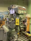 Ex-Cell-0 Style 602 Ram Turret Milling Machine, SN: 60211381