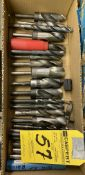 Assorted Drill Bits (Silver & Deming)