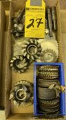 LOT - Assorted Milling & Slitting Saws