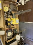 LOT - Assorted Dial Indicators, Stand, Etc.