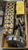 Assorted 5C Collets & Step Collet