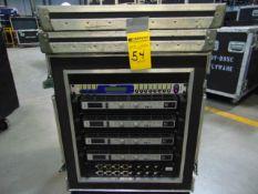 STAGE MONITOR RACK (4 x AMP EV TG-7 NL4M, 1 x CROSSOVER KT DN-9848, 1x I/O PANEL) PKG