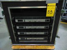 STAGE MONITOR RACK (4 x AMP EV TG-7 NL4M, 1x I/O PANEL) PKG