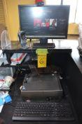 Lenovo IdeaCentre Computer with Acer Monitor & Logitech Camera