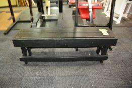 6' Wood Bench