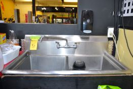 Stainless Steel 2-Compartment Sink