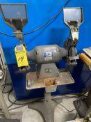 Baldor 3/4 HP Double-End Grinder #8107WD-B On Pedestal