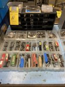 LOT - 26 Draw Cabinet with Keyway & Milling Cutters