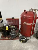 Snap-On Upright Air Compressor (Needs To Be Put Together) M: DRA780V
